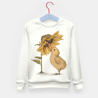 Thumbnail image of Sunflower Kid's Sweater, Live Heroes