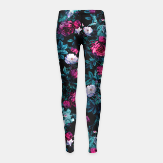 Thumbnail image of RPE ABSTRACT ROSES Girl's Leggings, Live Heroes