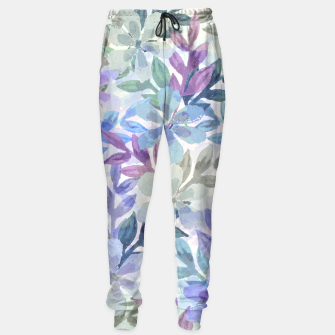 watercolor Botanical garden Sweatpants imagen en miniatura