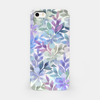 watercolor Botanical garden iPhone Case imagen en miniatura
