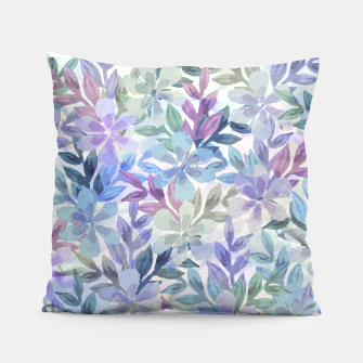 watercolor Botanical garden Pillow imagen en miniatura