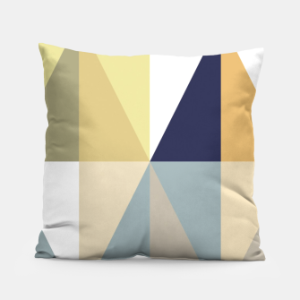 Thumbnail image of Geometric Pillow, Live Heroes