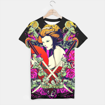 Thumbnail image of ASIAN DIVA Samurai Edition T-shirt, Live Heroes