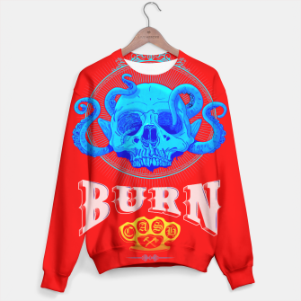 Thumbnail image of BLUE SKULL Red Edition  Sweater, Live Heroes