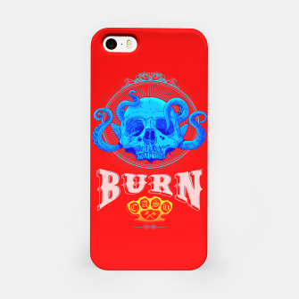 Thumbnail image of BLUE SKULL Red Edition  iPhone Case, Live Heroes