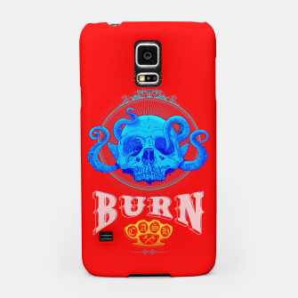 BLUE SKULL Red Edition  Samsung Case thumbnail image