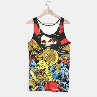 Thumbnail image of THE LADY ASSASSIN Dragon Heart Edition Tank Top, Live Heroes