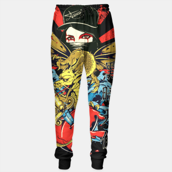 Thumbnail image of THE LADY ASSASSIN Dragon Heart Edition Sweatpants, Live Heroes