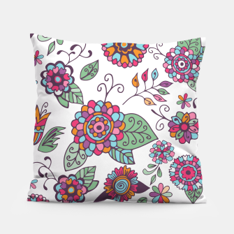 Thumbnail image of Cute Floral Pattern  Pillow, Live Heroes