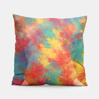 Thumbnail image of Abstract Elephant Pillow, Live Heroes