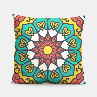 Thumbnail image of Ethnic Oriental Ornament  Pillow, Live Heroes