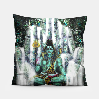 Thumbnail image of Shiva Whaterfall Pillow, Live Heroes