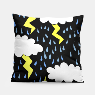 Thumbnail image of Dark Storms Pillow, Live Heroes