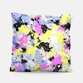 Thumbnail image of Abstract #5 Pillow, Live Heroes