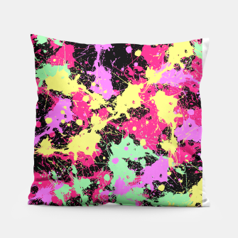 Thumbnail image of Abstract #7 Pillow, Live Heroes