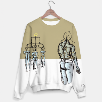 Miniatur Glass People Sweater, Live Heroes