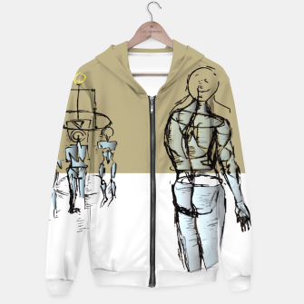 Miniatur Glass People Hoodie, Live Heroes