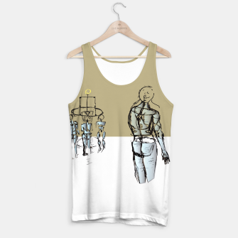 Miniatur Glass People Tank Top, Live Heroes