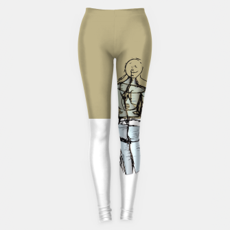 Miniatur Glass People Leggings, Live Heroes