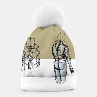 Miniatur Glass People Beanie, Live Heroes