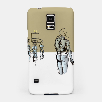 Miniatur Glass People Samsung Case, Live Heroes