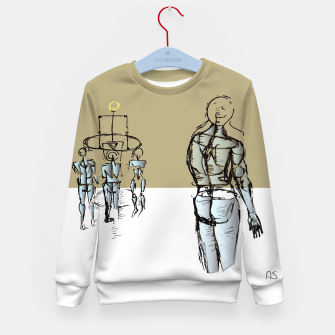 Miniatur Glass People Kid's Sweater, Live Heroes