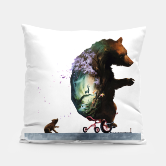 Thumbnail image of bear5 Pillow, Live Heroes