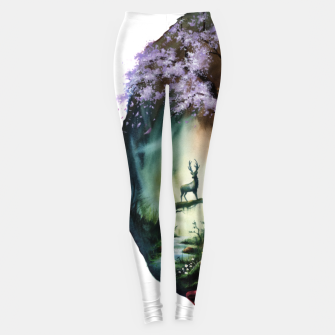 Thumbnail image of bear7 Leggings, Live Heroes
