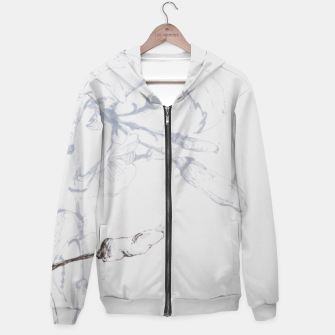 Thumbnail image of grey chilly Hoodie, Live Heroes