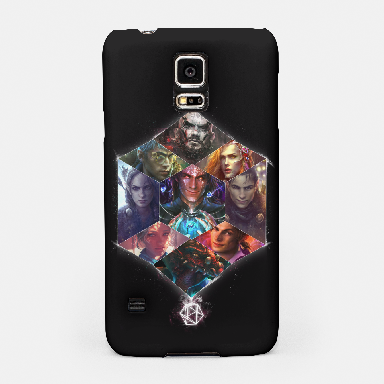 Image of Vox Machina Samsung Case - Live Heroes