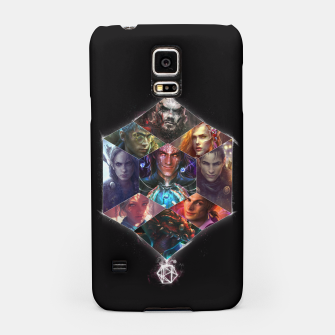 Thumbnail image of Vox Machina Samsung Case, Live Heroes