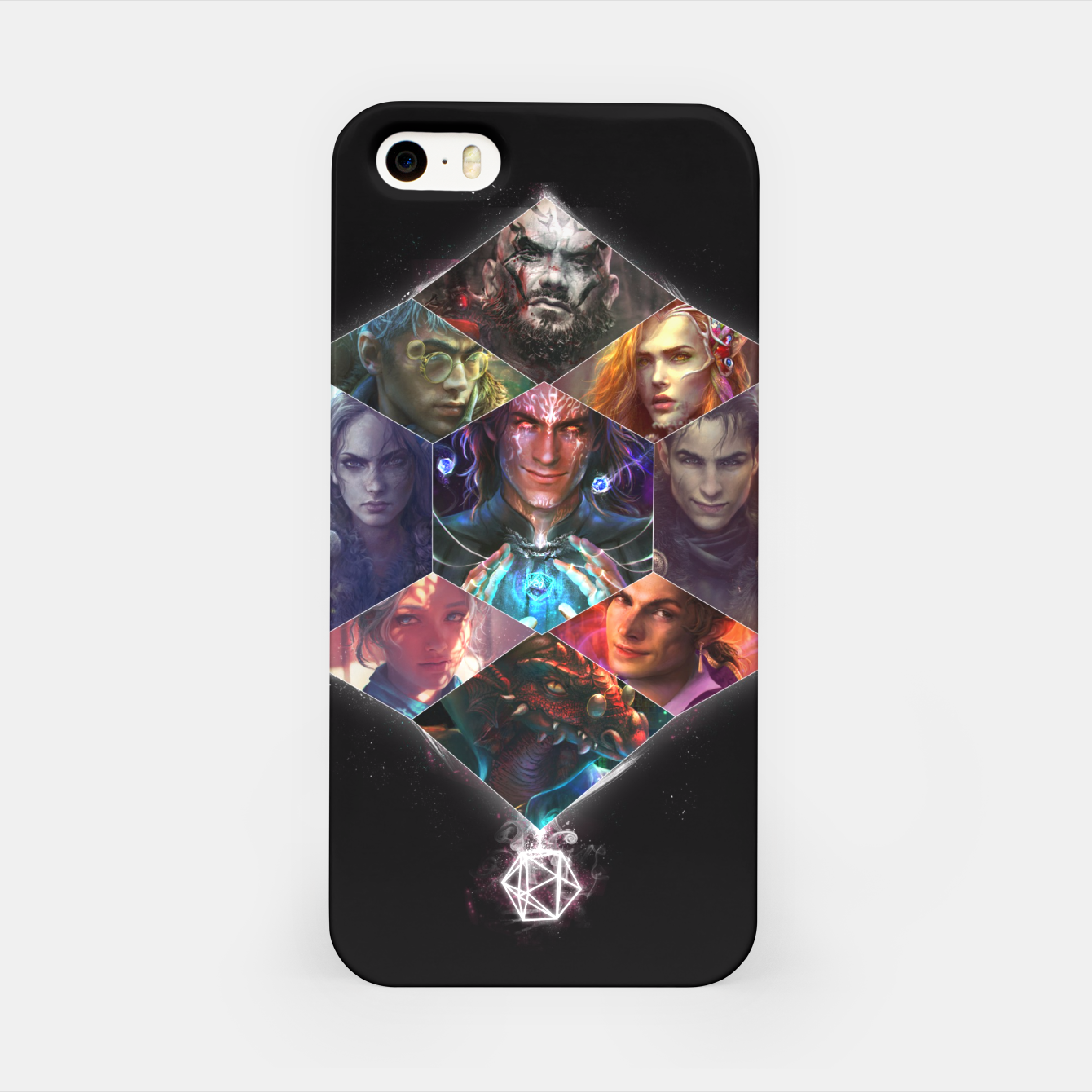 Image of Vox Machina iPhone Case - Live Heroes