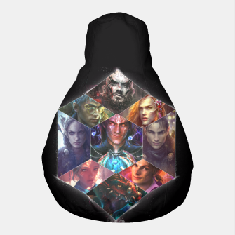 Thumbnail image of Vox Machina Pouf, Live Heroes