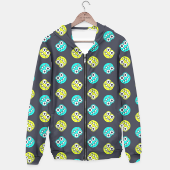 Thumbnail image of Blue Green Funny Bugs Hoodie, Live Heroes