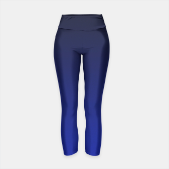 Thumbnail image of Cobalt Blue Ombre Yoga Pants, Live Heroes