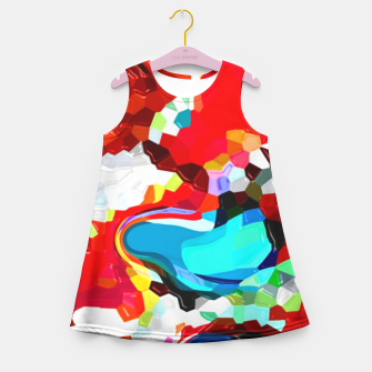 Thumbnail image of TransformedMosaic Girl's Summer Dress, Live Heroes