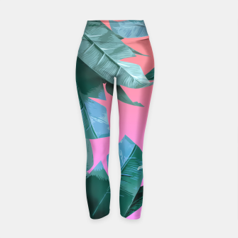 Thumbnail image of Tropical Dream Yoga Pants, Live Heroes