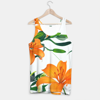 Thumbnail image of Glorious Lilies Tank Top, Live Heroes