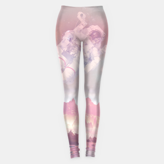 Thumbnail image of Cosmic Landing Leggings, Live Heroes