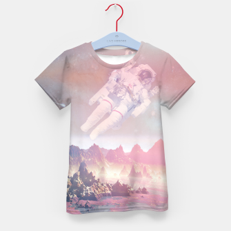 Thumbnail image of Cosmic Landing Kid's T-shirt, Live Heroes