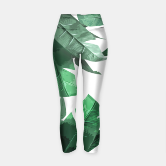 Thumbnail image of Tropical Palm Yoga Pants, Live Heroes