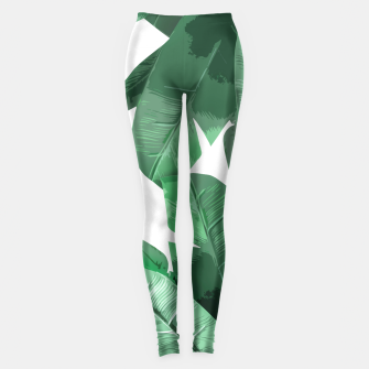 Thumbnail image of Tropical Palm Leggings, Live Heroes