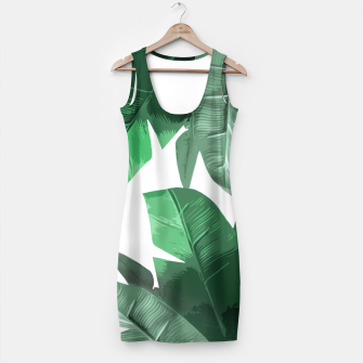 Tropical Palm Simple Dress thumbnail image