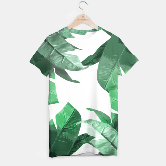 Thumbnail image of Tropical Palm T-shirt, Live Heroes