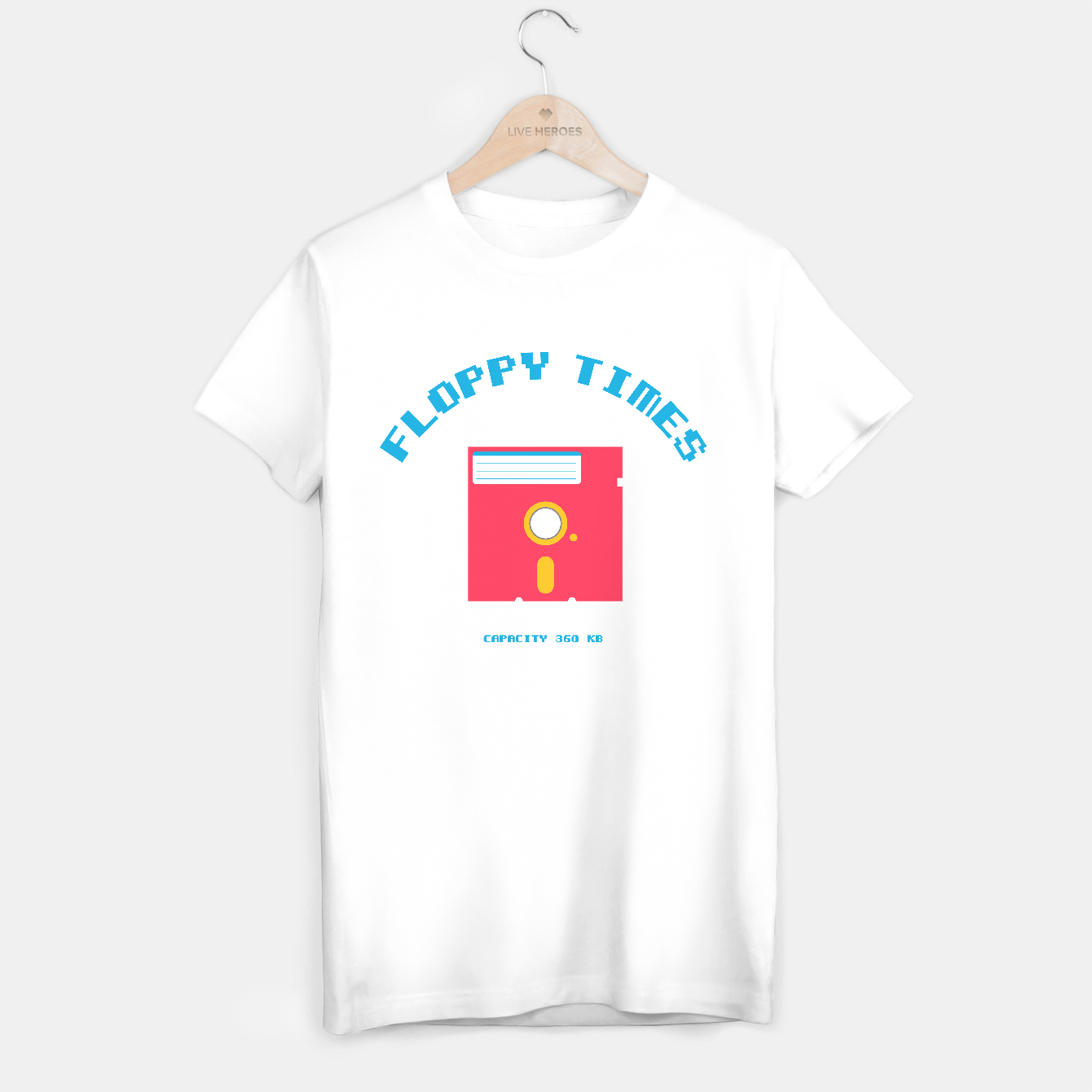 Image of Floppy Times - Tee - Live Heroes