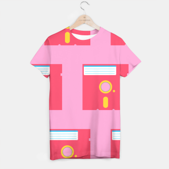 Thumbnail image of Floppy Pattern Pink - Tee, Live Heroes