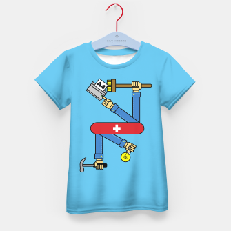 Thumbnail image of Switzerland - Kid´s Tee, Live Heroes