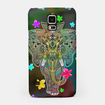 Thumbnail image of Elephant Zentangle Doodle Art  Samsung Case, Live Heroes