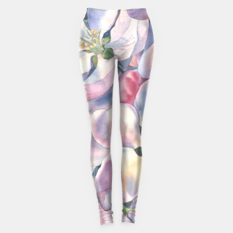 Miniatur  Blossoming apple-tree  Leggings, Live Heroes