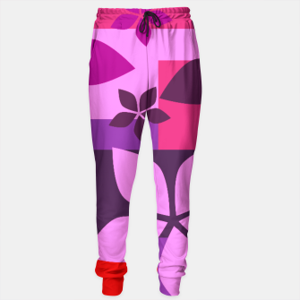 Thumbnail image of Colorful patterns Sweatpants, Live Heroes